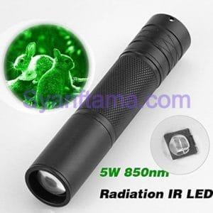 OEM IR Infra Red 850NM 5W Flashlight Senter Booster